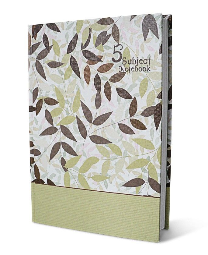 Inscribe 5 Subject Notebook - A, Pen down five different themes, all in one notebook.