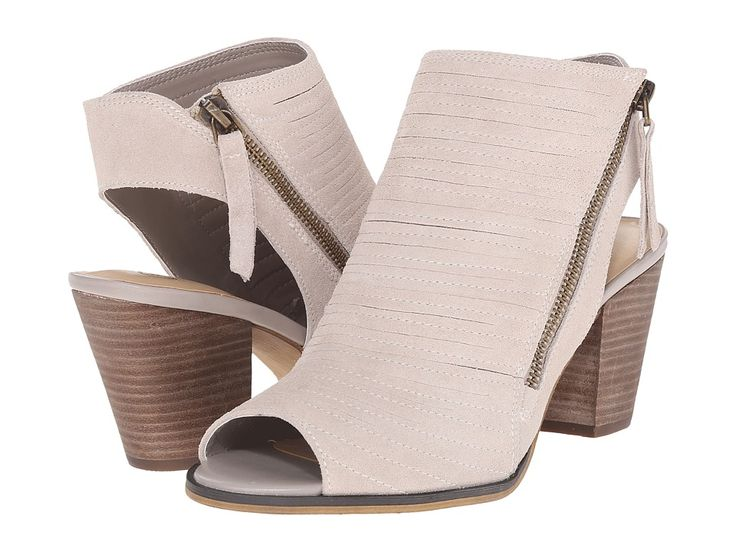 Bella Vita Kalista Wide width booties with a sturdy stacked heel and a peep toe