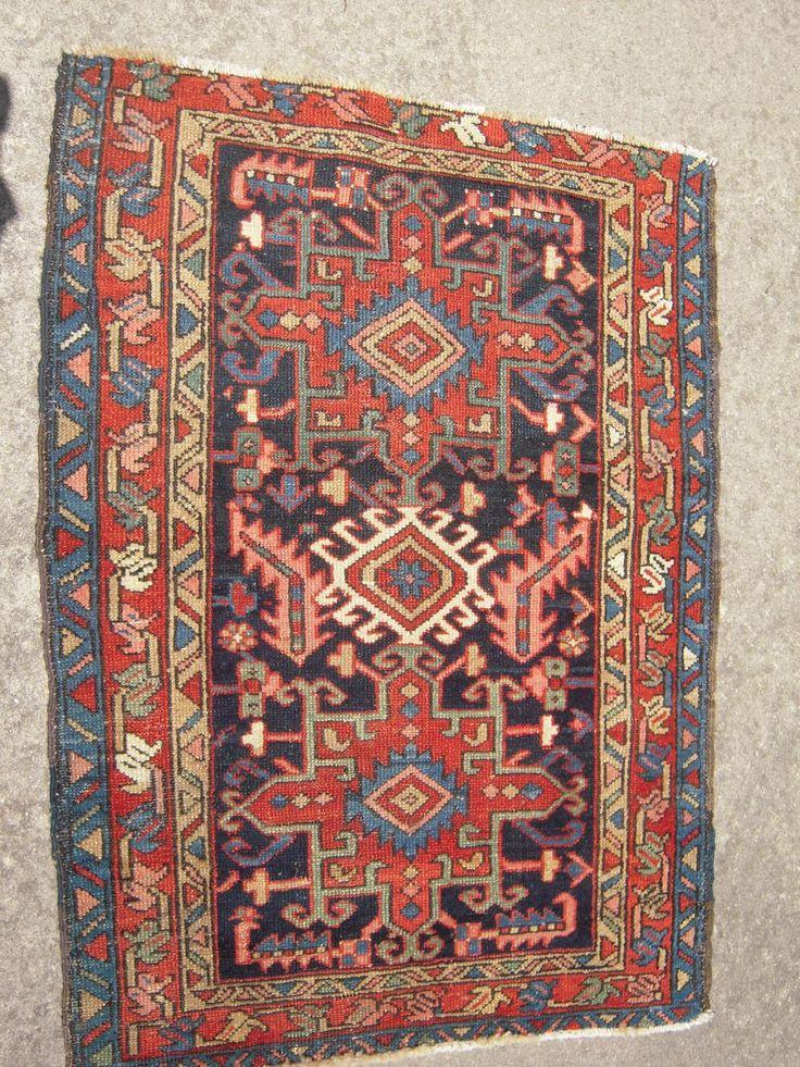 Vintage Karaja Persian Rug X
