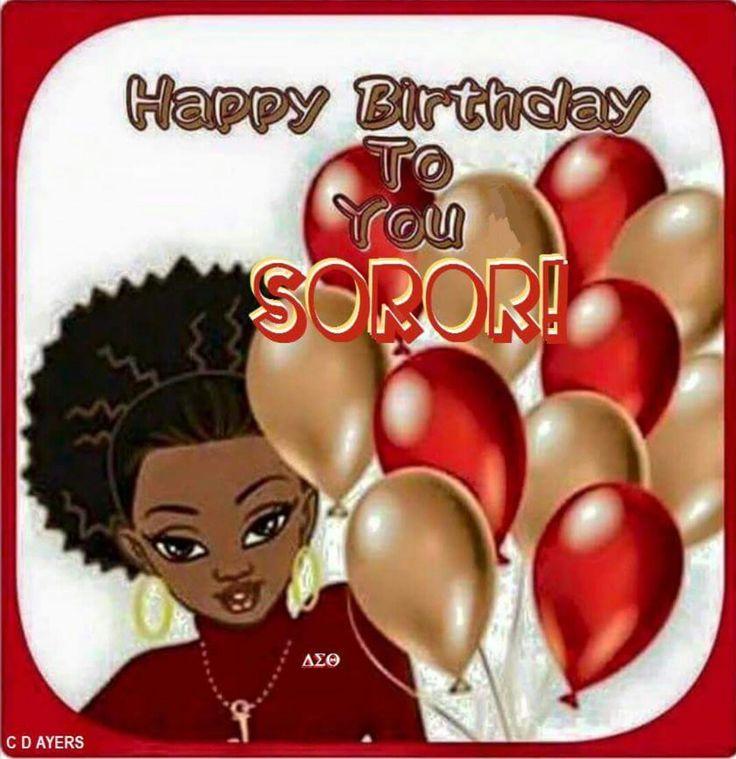 Delta Sigma Theta Soror birthday