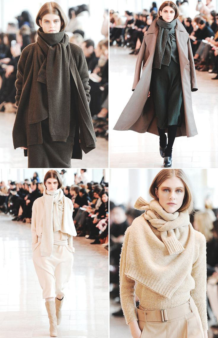 Trend Alert: Knit Knot New Scarf Trends - Be Modish #fashion #style