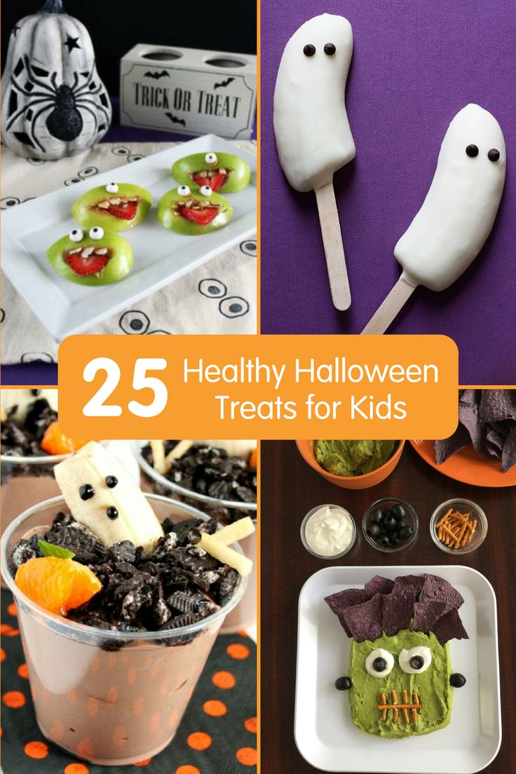 25 Healthy Halloween Treats For Kids Fun Recipes