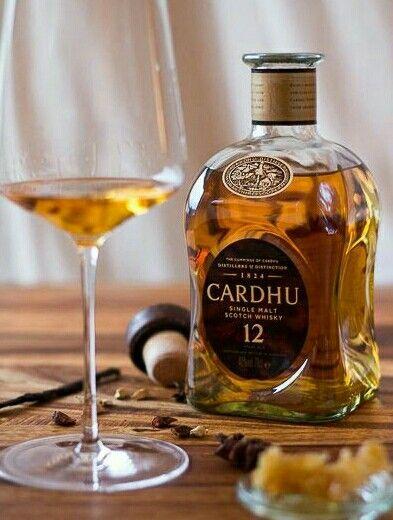 Cardhu single malt Scotch Whisky One of my favorites