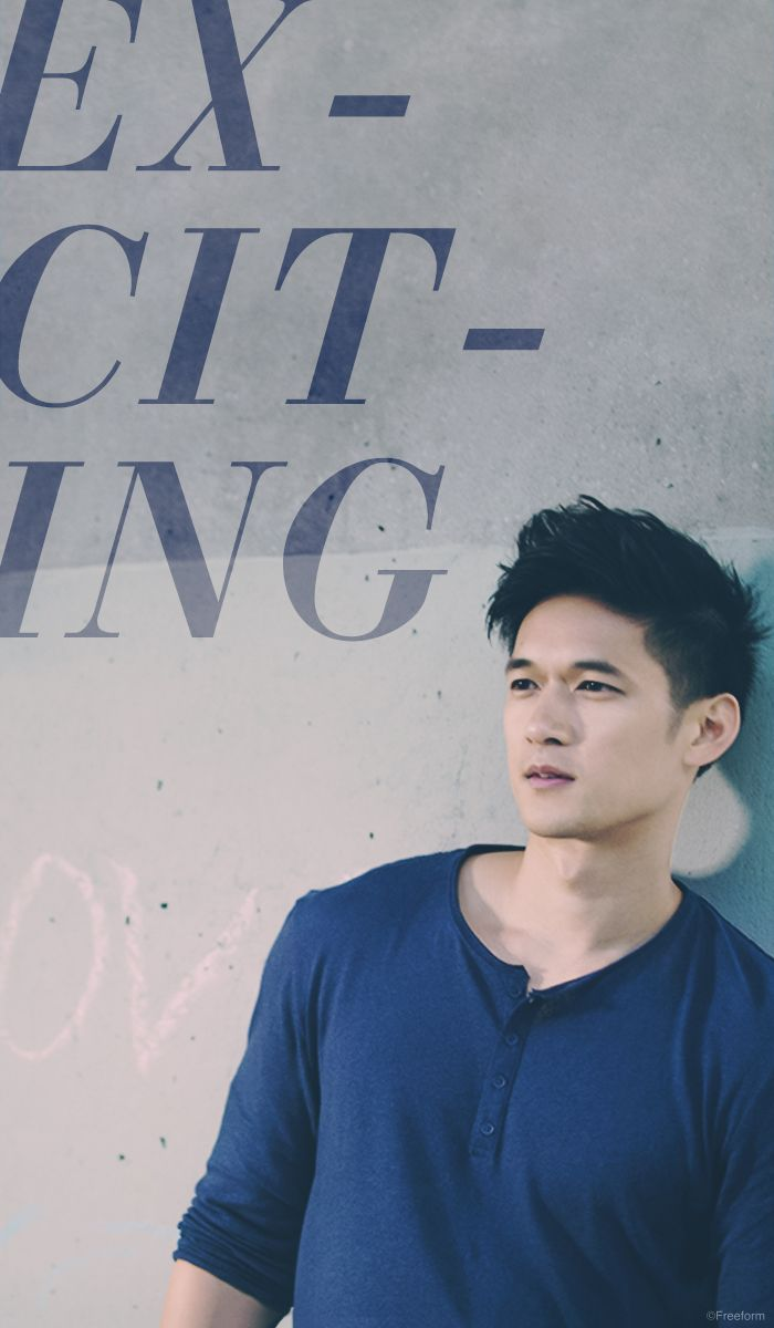 The most exciting times are still ahead! // Harry Shum Jr. is Magnus Bane in Freeform's new series, Shadowhunters.