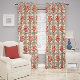 Shop for Traditions by Waverly Dressed Up Damask Curtain Panel. Free Shipping on orders over $45 at Overstock.com - Your Online Home Decor Outlet Store! Get 5% in rewards with Club O! - 18021975
