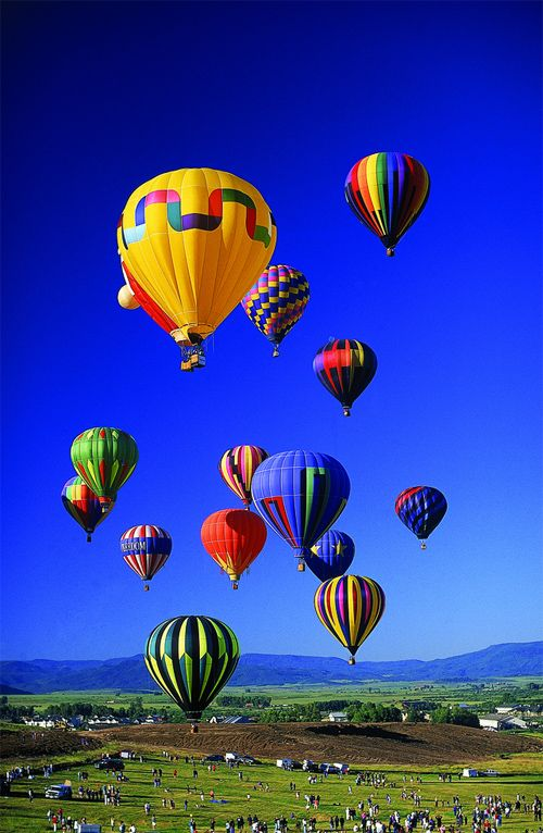 3. In the Sky ~ Pretty Hot Air Balloons