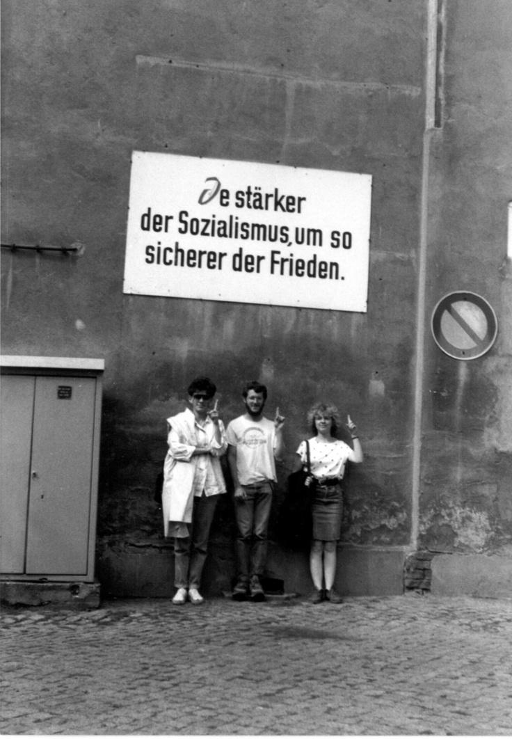 1988, Wilhelm-Pieck Universität, Rostock, DDR,