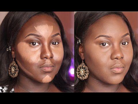 Highlight And Contour Dark Skin Updated Routine