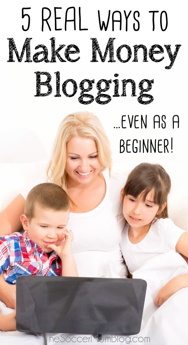 Blogging tips written for beginners: REAL tips to start making money blogging, even if you're not getting a million hits a month!