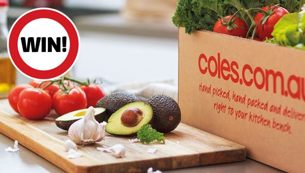 WIn a $100 voucher from Coles Online