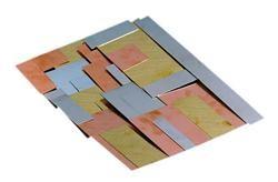 Assortiment de panneaux de métaux non ferreux 1 kg - Découpes sur mesure   Métaux - Service de découpes   Assortiments - Métaux divers