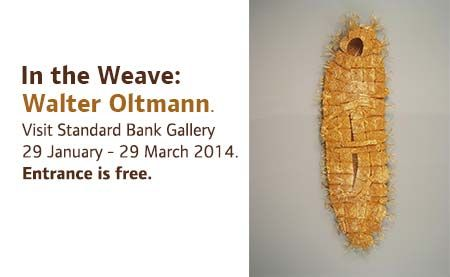 Known for master craftsmanship, Walter Oltman creates sceptres that are woven from metal wire, inspired by tradition metallurgical practices of Zulu craftsman.  |Walter Oltman at the Standard Bank Gallery Home | Standard Bank Arts  #ArtExhibitions #March2014 #Johannesburg