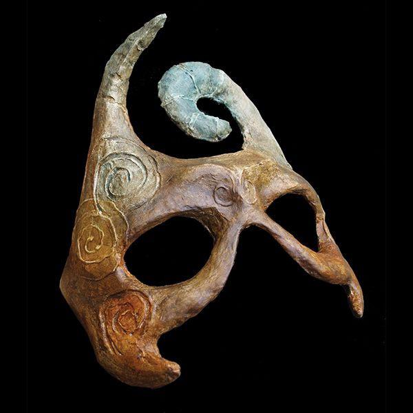 how to make smooth paper mache masks