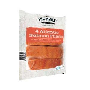 4 Atlantic Salmon Fillets, £6, Iceland