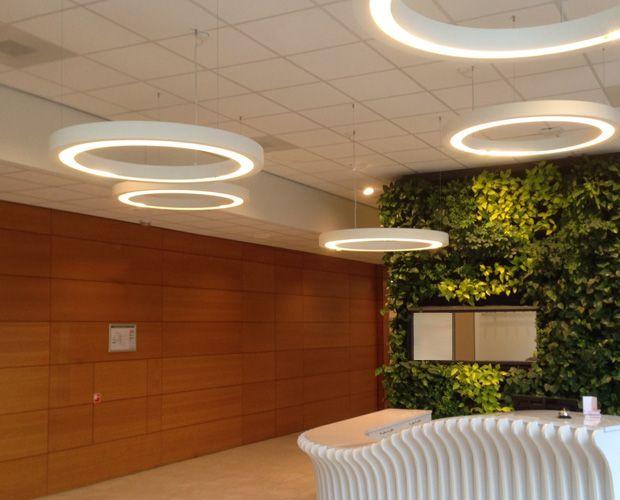 Suspensions LED ANNEAUX ref.3180 & 3181