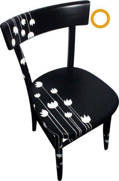 57 Adet Ahşap Sandalye Boyama örnekleri Evde Sandalye Boyama
