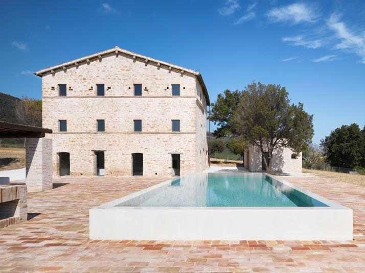 Le Marche Villa in Treia by Wespi de Meuron Architekten