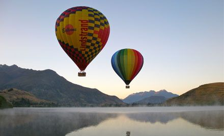 Sunrise Balloons is based in Queenstown, New Zealand; flights are scheduled daily, all year round, weather permitting.
