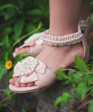 Loving this Pink Ana Sandal on #zulily! #zulilyfinds