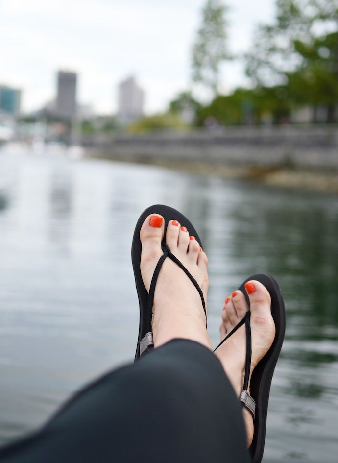 Sanuk Canada Sling Fling Sandal |  See more: Covetandacquire.com