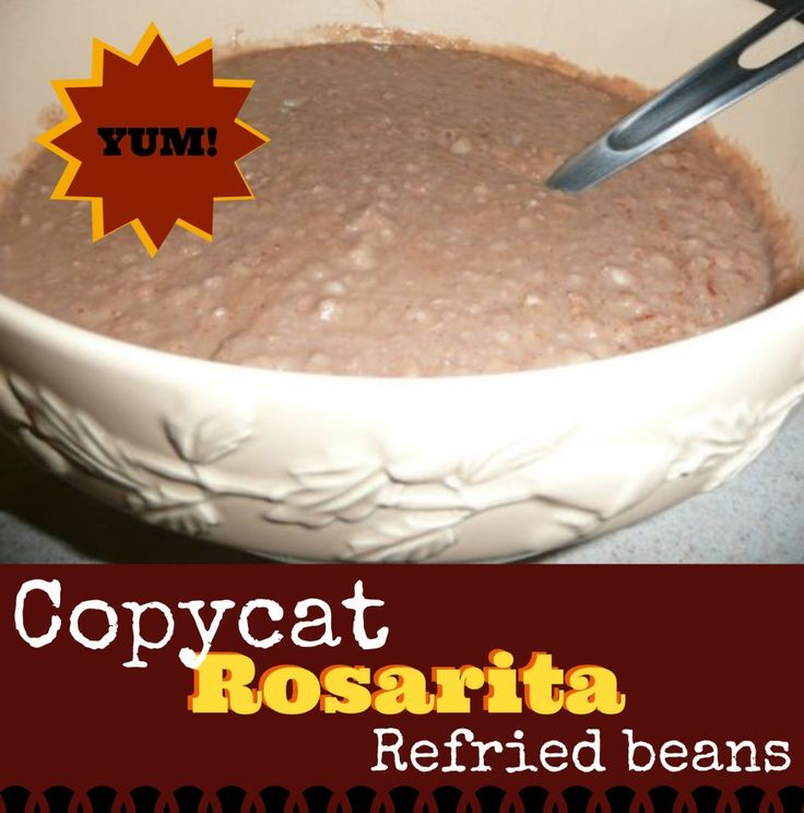 These are the homemade refried beans my family loves! I tried for years to find a recipe that worked for us and THIS is it! We use them in burritos, on tostadas, or just as a side dish with tacos.