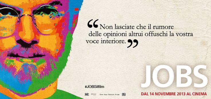 E la vostra voce interiore sta urlando: JOBS è oggi al #CINEMA! #JOBSilfilm