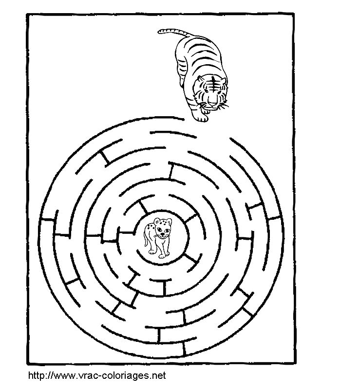free labrynth coloring pages - photo#16