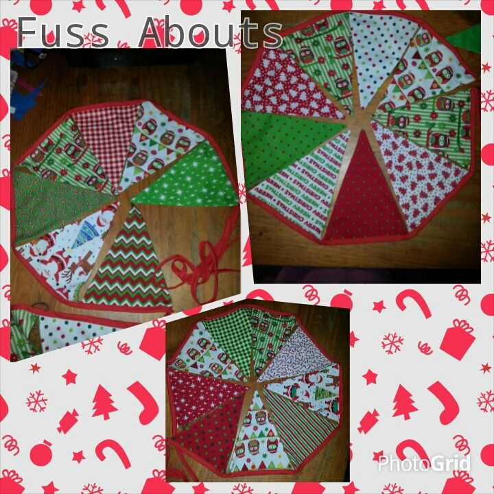 Christmas Bunting...www.facebook.com/fussabouts