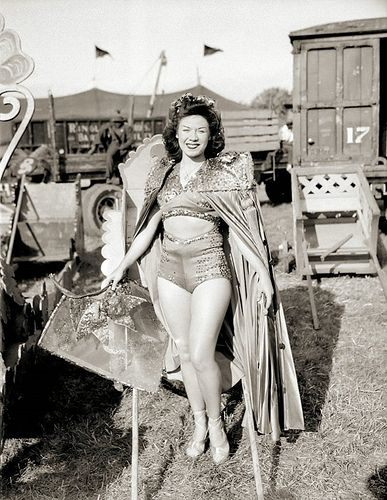 The Circus Girl #vintage #pinup #circus