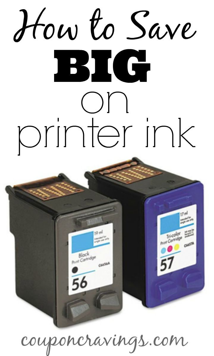 Tired of spending so much money on printer ink? Get printer cartridges for only $5 each with free shipping. This is a great way to save on printer ink!
