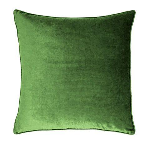 Laura Ashley Nigella Forest Green Square Velvet Cushion #lauraashleyhome #amblesidecollection