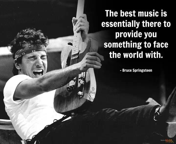 Best 25+ Bruce Springsteen Quotes Ideas On Pinterest