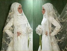 Cheap Wholesale Muslim Veils in Bridal Accessories - Buy Cheap Muslim Veils from Best Muslim Veils Wholesalers | DHgate.com - Page 2