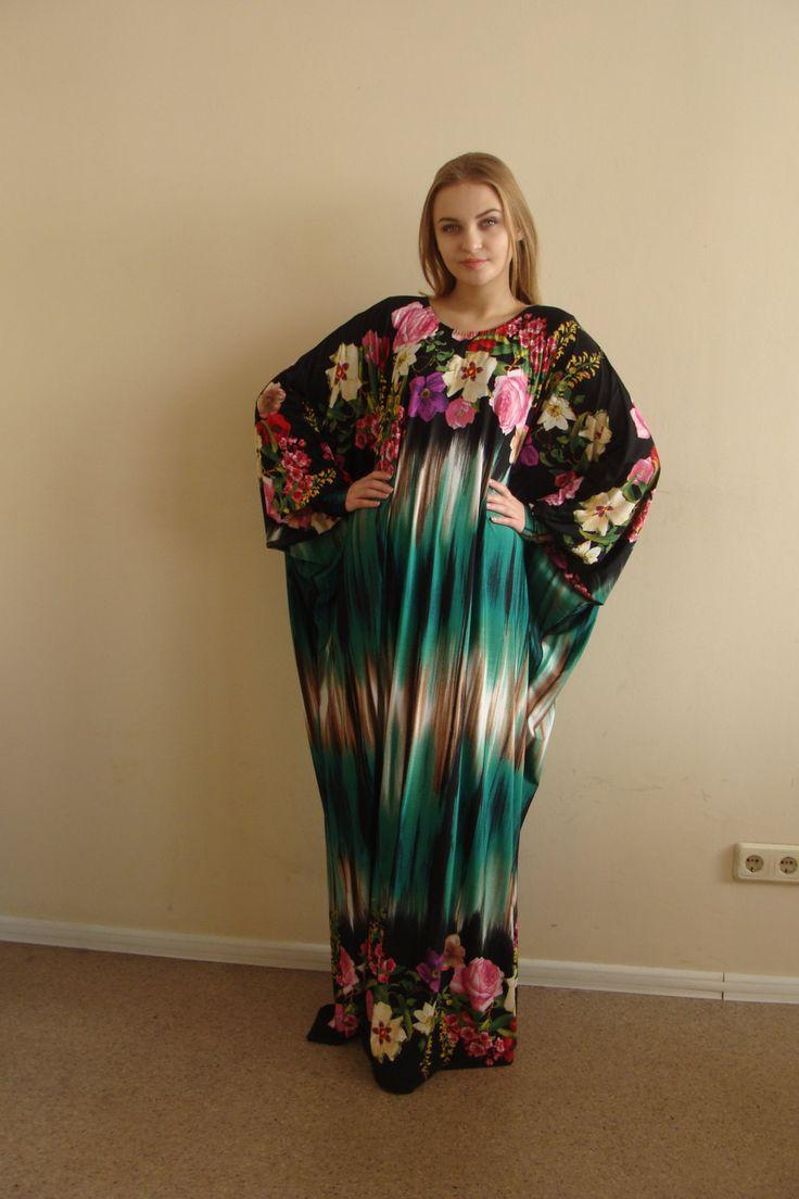 Neujahr Sale floralen Maxi Kleid Plus Size von ScarfTurbanHijab