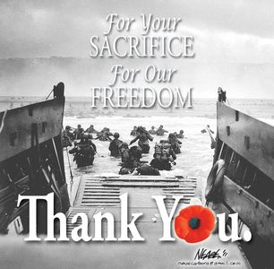 In honour of all those who have served and still serve and the families that support them-thank you...