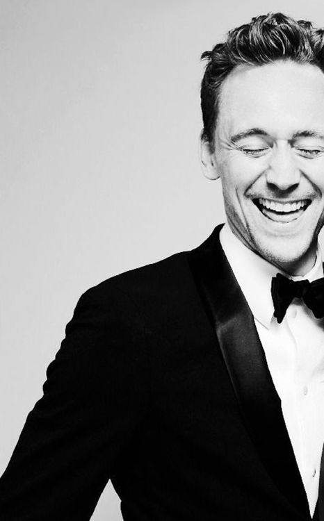Tom Hiddleston. One his best picture. Love that smile..