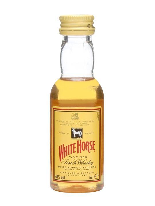 White Horse Miniature : The Whisky Exchange