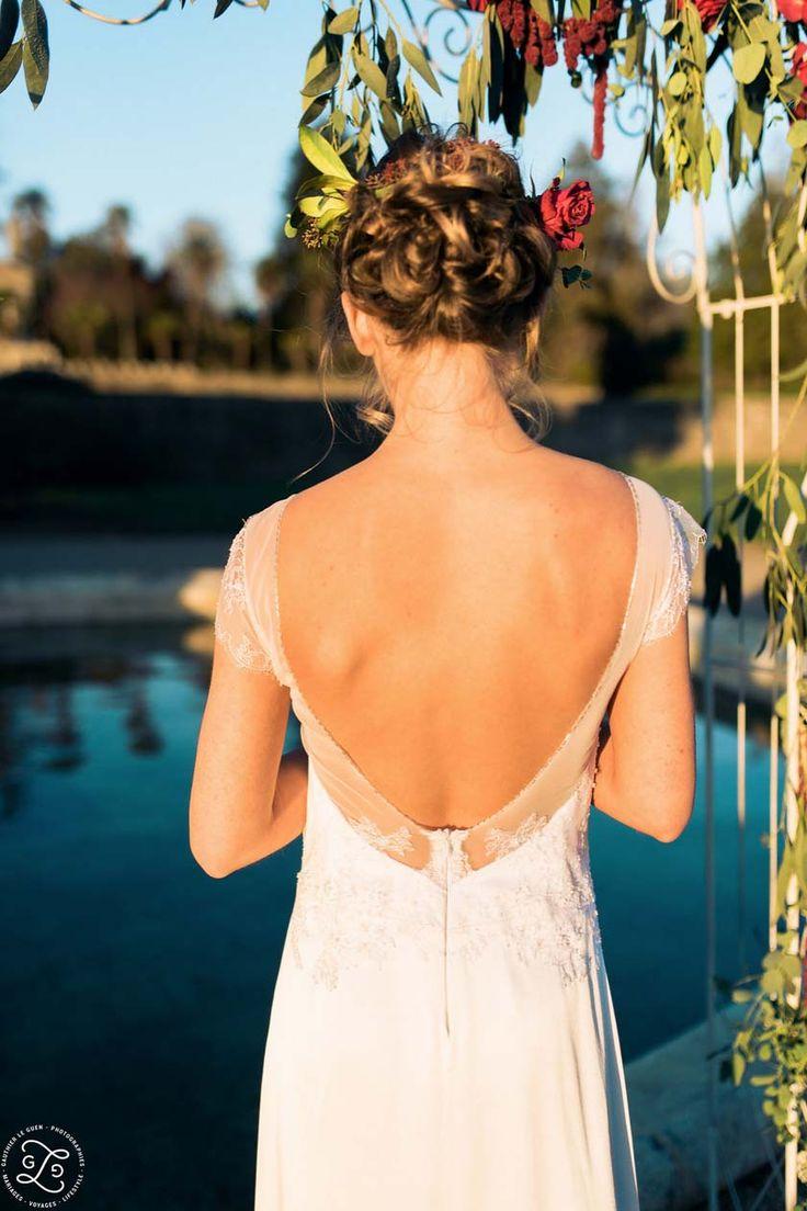 Jeanne Lannurien - Créatrice de robes de mariée | Crédits: Gauthier Le Guen- Elodie Struillou coiffeuse maquilleuse-modele: Lucie d'Agosto #Mariage #lorangeriedelanniron #RobesDeMariee #WeddingDresses #Wedding #mariage #Brides #bride #mariee #FutureMariee #boheme #MariageBoheme #bridal #Mariage #Boheme #Bretagne #CreatriceDeRobesDeMariee #jeannelannurien