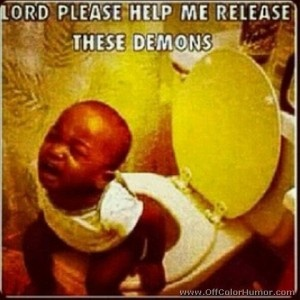 lord please help me release these demons