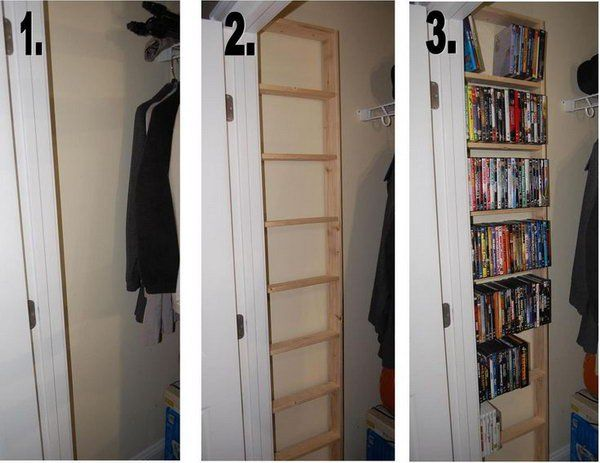 25 best ideas about dvd storage solutions on pinterest dvd storage rack dvd storage units. Black Bedroom Furniture Sets. Home Design Ideas