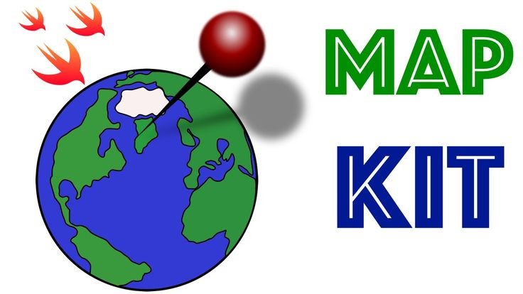Swift Programming Language Tutorial:  MapKit Basics: latitude, longitude...