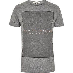 Grey San Francisco print t-shirt