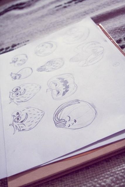 Memollow fruts sketches