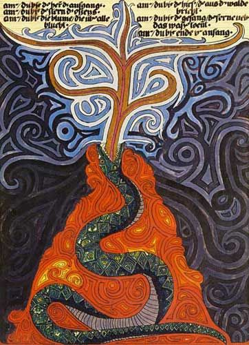 The serpent is the earthly essence of man of which he is not conscious….it is the mystery that flows to him from the nourishing earth-mother. C. Jung