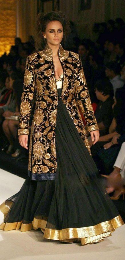 Rohit Bal Lengha with Jacket #indowestern #indianfashion #fashion