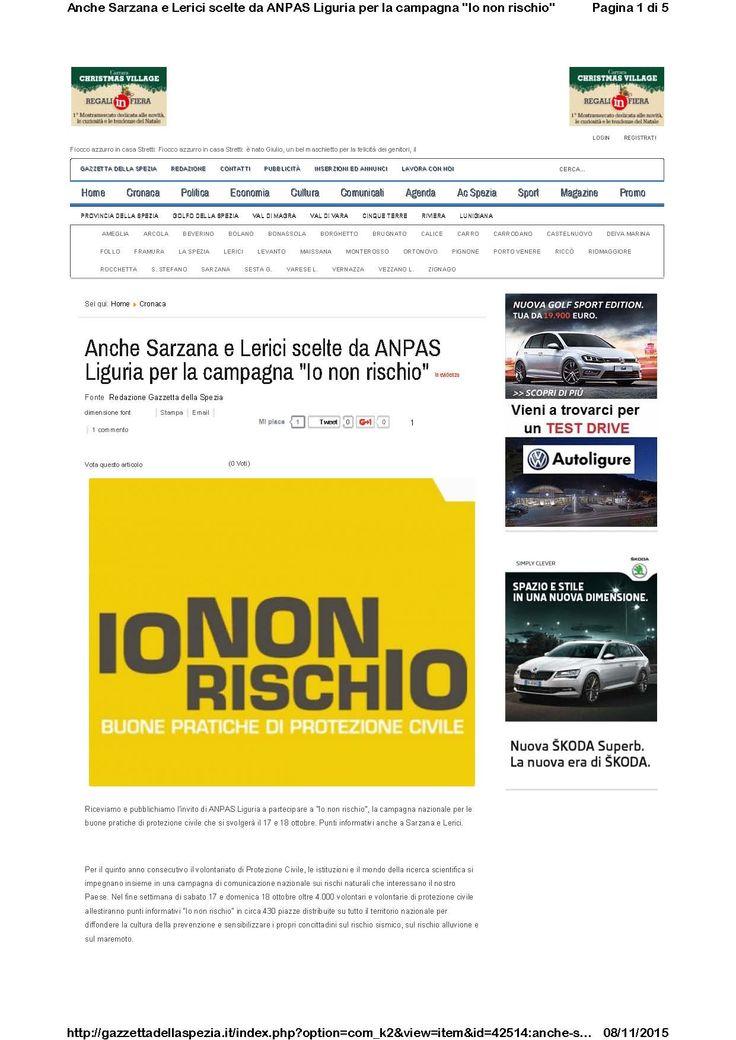 Gazzetta della Spezia - 15 ottobre (pag 1/2)
