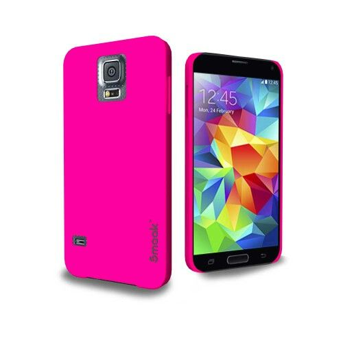 Smaak™ Sleek for Samsung Galaxy S5 -  Electric Pink.  For more info visit http://ismaak.com
