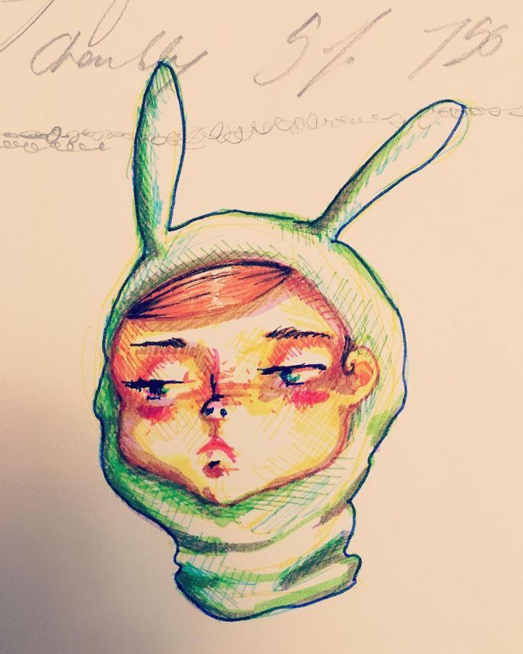 Dans l'attente des résultats de l'élection partielle. #doodle #art #artmtl #mtlart #doodles #polcan #polqc #sketchbook #sketches #sketch #sketchaday #steadler #artistsofinstagram #winteriscoming #snowwhite #snowbunnies #bunny #bunnycostume #bunnystagram #bunnysuit