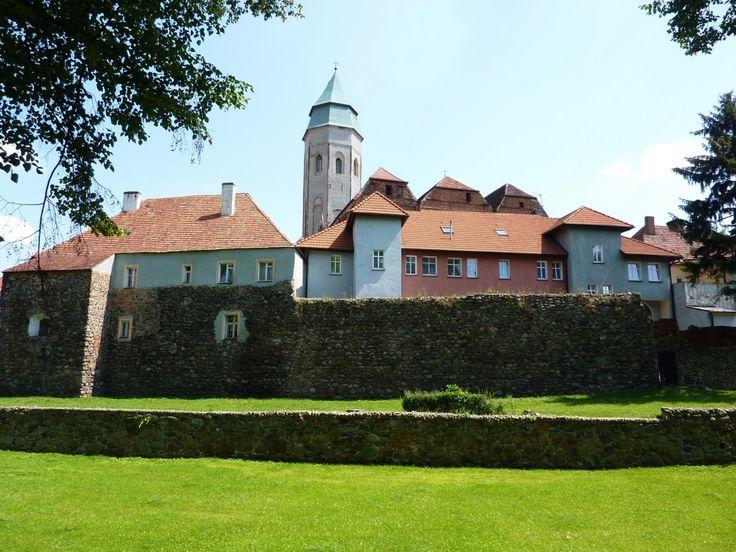 Kożuchów old town - medieval city walls