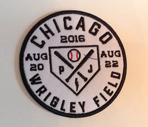 #fashion This listing is for one official #Pearl Jam #2016 Wrigley Field concerts logo patch. This patch was obtained at the official Pearl Jam merchandise booth ...